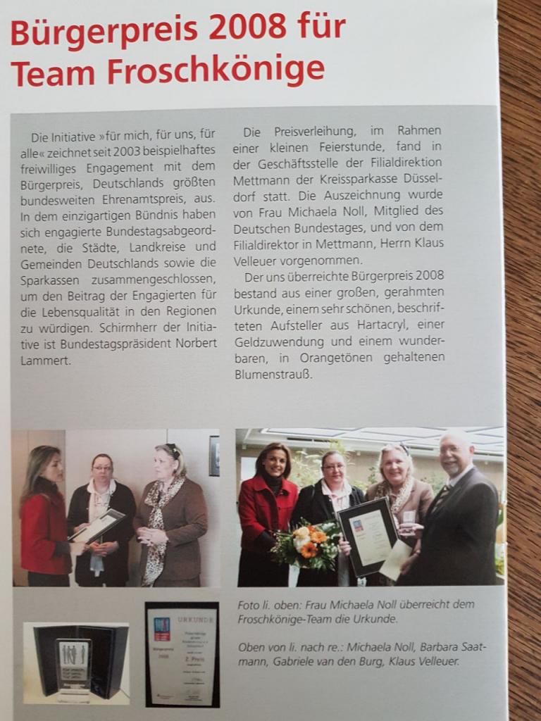 Artikel Deutscher Bürgerpreis 2008